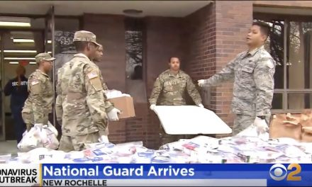 America, a la Twilight Zone, preps for National Guard in the streets