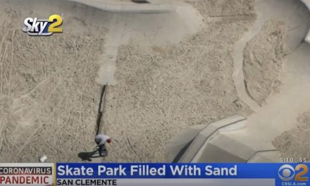 California city dumps 37 tons of sand in skate park to stop people from using it