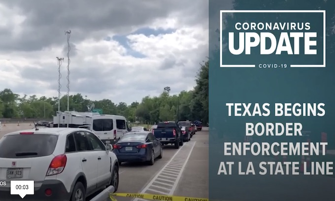 DPS 'checkpoints' underway at Texas, Louisiana state line