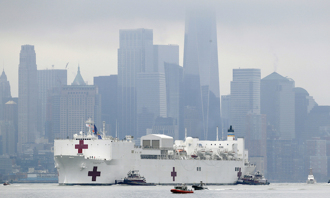 Unneeded: USNS Comfort discharges final patient ahead of departure from New York
