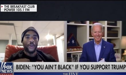 'You ain't black' if you vote for Trump, Biden says
