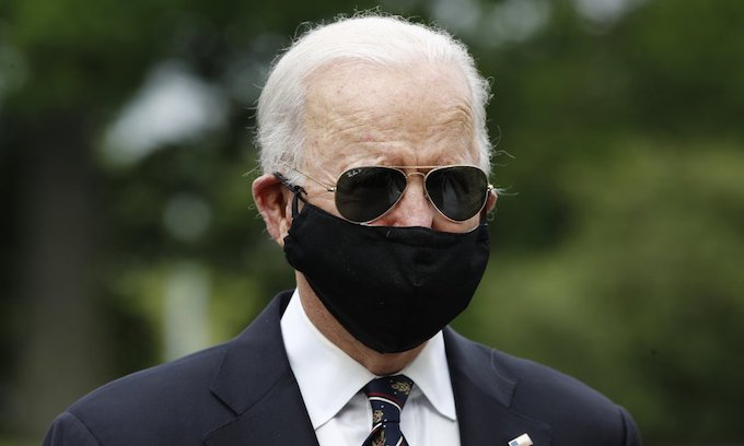 Joe Biden: Donald Trump 'absolute fool' for not wearing face mask