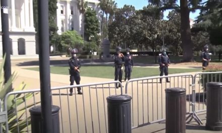CHP blocks Newsom protesters from capitol grounds