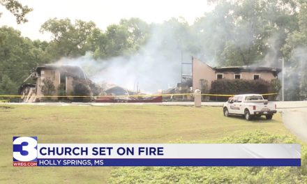 MS church suing for freedom from stay home order burned to the ground
