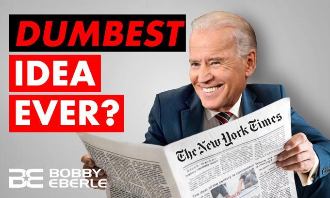 NYT's SHOCKING recommendation for Tara Reade, Joe Biden Investigation