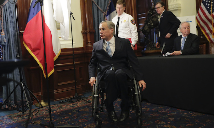 Gov. Abbott proposes legislation to freeze property taxes if cities defund police