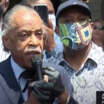 Al Sharpton in town ahead of last night's riots to call for national 'We Can't Breathe' movement