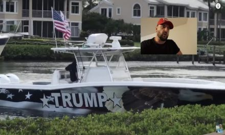 Man recovered from Coronavirus told to take his Trump flag down, so he did this instead