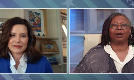 Gov. Whitmer goes on The View to lay blame for likely extention of stay-at-home orders