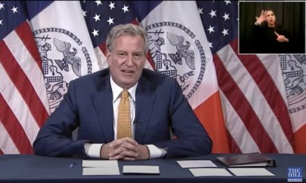 Amid rising violence Mayor de Blasio touts $1.5B in budget cuts to NYPD; warns of layoffs