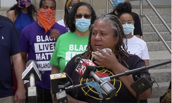 Black Lives Matter OKC leader criticizes DA for protest charges