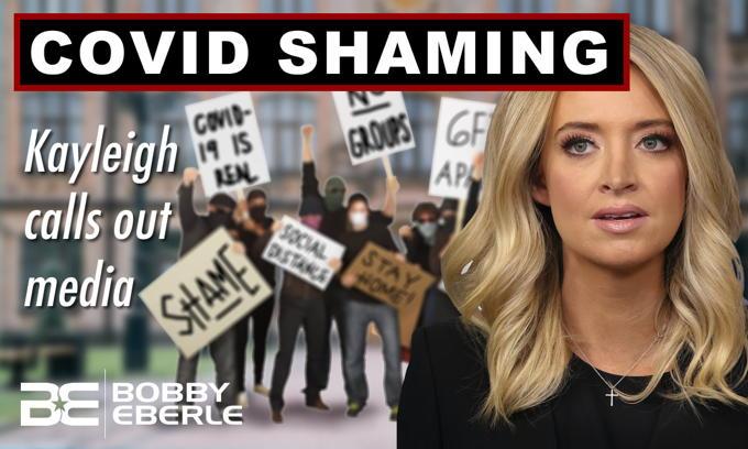 Kayleigh McEnany Rips Media on 'Covid Shaming'; Protests, good; Trump Rally, bad?