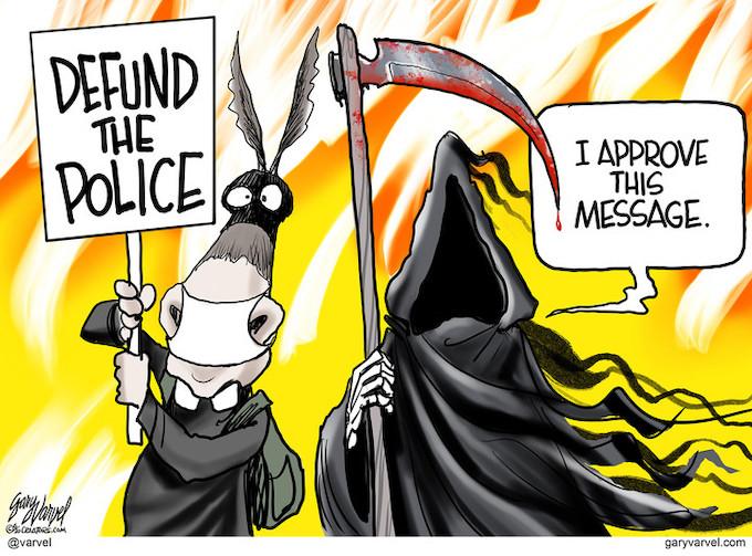 Democrat Alliance With The Grim Reaper