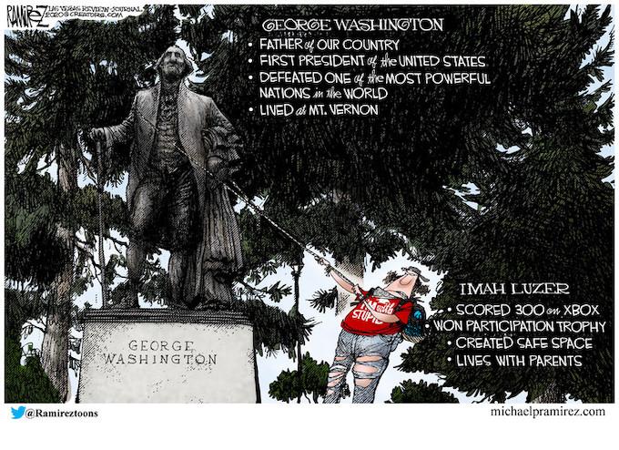 George Washington or Imah Luzer: You pick