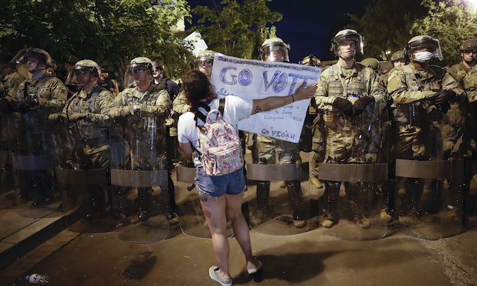 National Guard taps units for rapid response to civil unrest