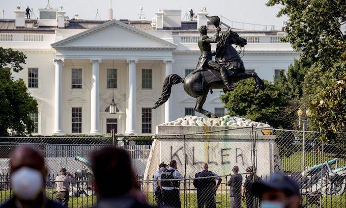 Feds nab Antifa-linked 'ringleader' of attack on Andrew Jackson statue
