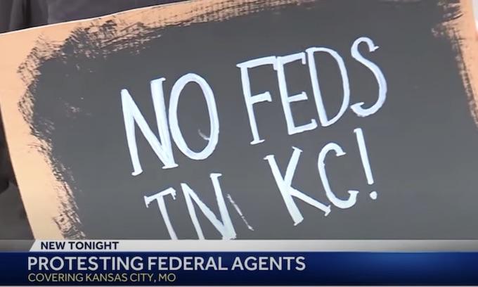 Hundreds protest federal effort to curb violent crime in Kansas City
