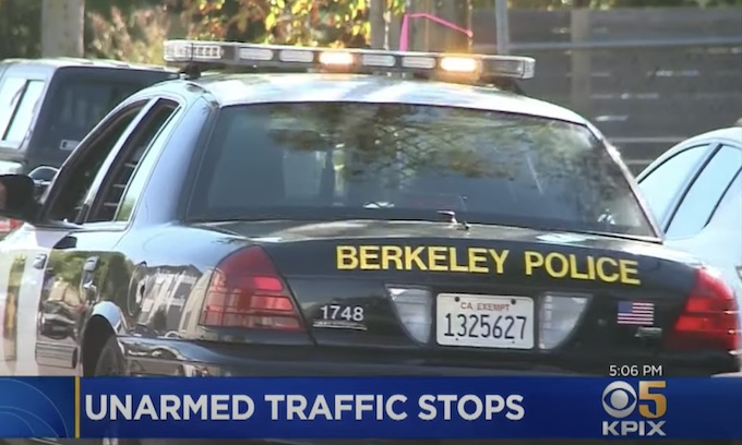 Berkeley City Council: Unarmed Civilians To Make Traffic Stops