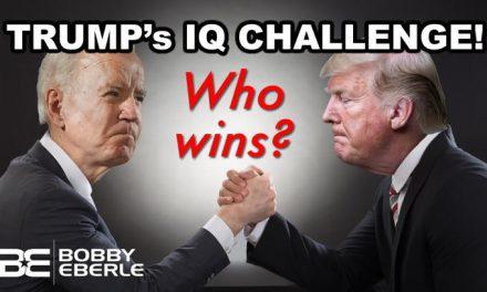 Who wins? Trump Challenges Joe Biden AND Fox News' Chris Wallace to IQ Test