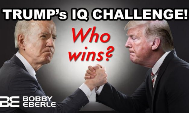 Who wins? Trump Challenges Joe Biden AND Fox News' Chris Wallace to IQ Test