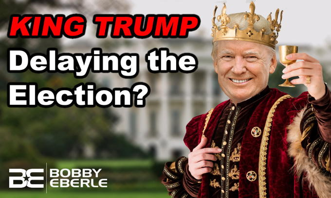 King Trump? Leftwing MELTDOWN as Trump Tweets on Delaying the Election