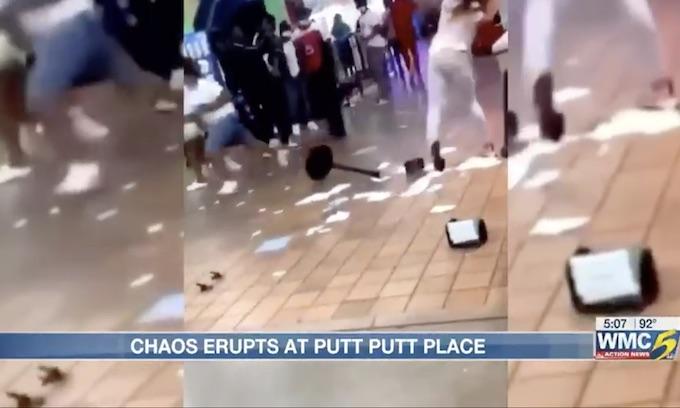 Chaos erupts when 300-400 teenagers dropped off at Memphis Putt Putt Fun Center