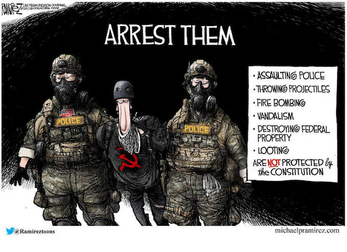 Arrest the Riot Supporting Mayors Too!