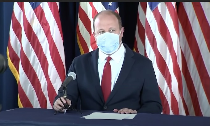 Colorado's Democrat governor calls anti-maskers 'selfish bastards'