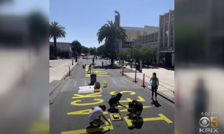 Want To Get Rid Of A BLM Sign On City Property? Here's How.