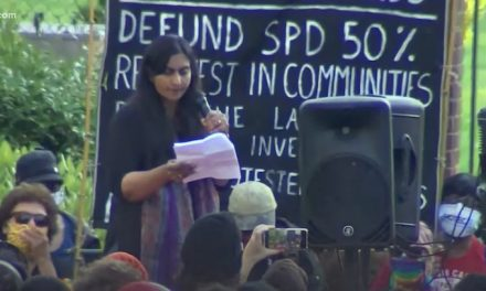 Seattle city council's Sawant protested with BLM at mayor's home; Durant calls for expulsion