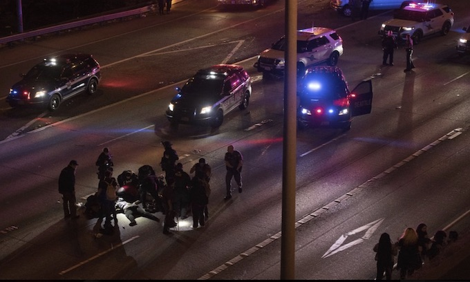 Black driver charged with hitting white protesters at BLM march on Seattle Interstate