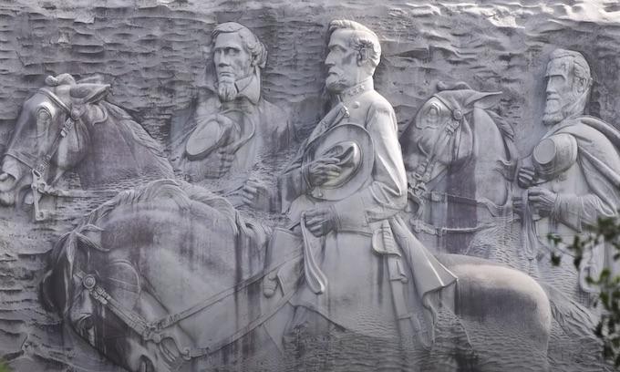 Armed Black Militia Marched Through Georgia's Stone Mountain Park
