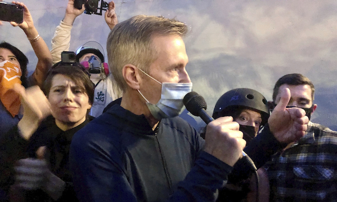 Tear Gas: Portland's Democrat Mayor Stands With The Rioters Against Law And Order