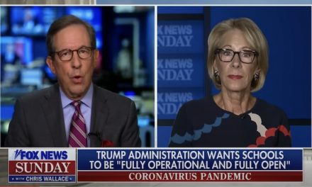 Betsy DeVos: Schools need to prioritize plans for return this fall
