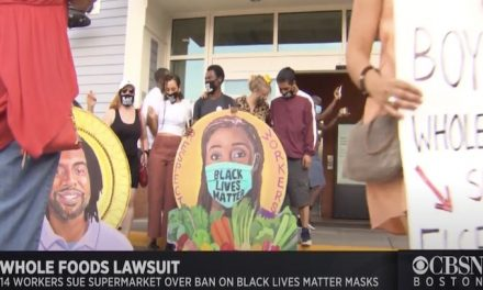 Whole Foods employees in Cambridge sue after after being disciplined for wearing Black Lives Matter masks