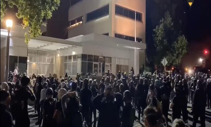 Democrat run Portland's 84th night of Antifa chaos