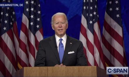 Biden defines election as choice of darkness and light