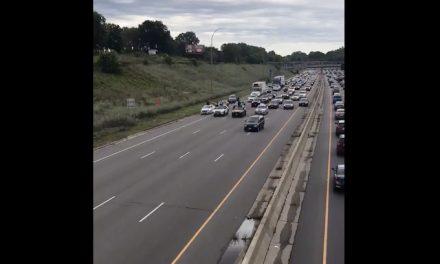 Agitators stage 10 mph rolling blockade between St. Paul and Minneapolis
