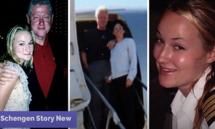 Photographs of Bill Clinton getting neck massage from Jeffrey Epstein victim surface