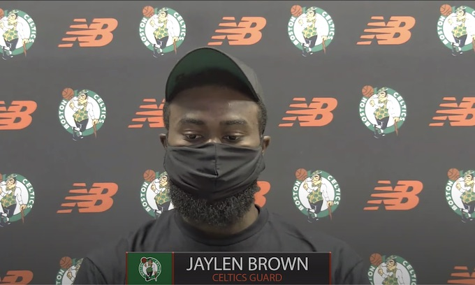 Jaylen Brown, Boston Celtics enraged over Jacob Blake shooting: 'Are we not human beings?'