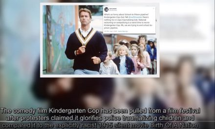 'Kindergarten Cop' screening canceled after movie is accused of glorifying police traumatizing children