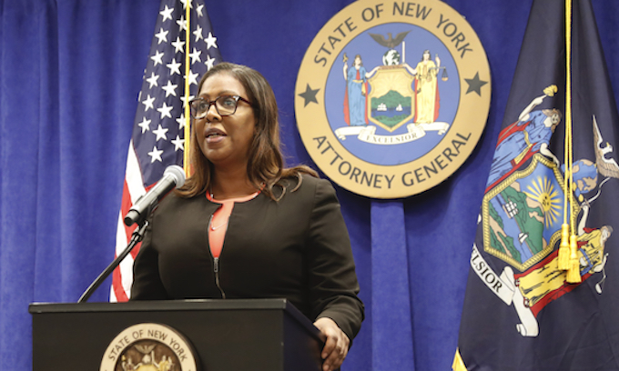 NY attorney general files suit seeking to dissolve the NRA