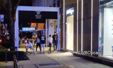 Looters, Rioters, hit Mag Mile, smashing windows and clashing with Chicago police