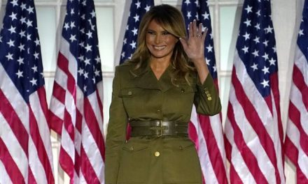 Melania Trump makes plea for racial harmony