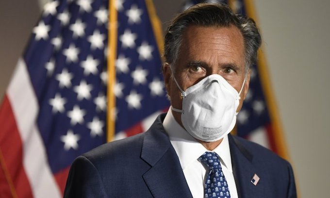 Big Government proponent Mitt Romney assails lack of federal plan to administer COVID vaccine