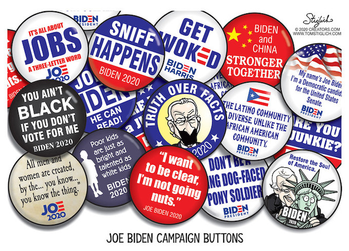 These will make them vote for Joe!