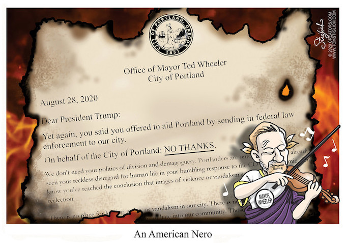 Fiddling as Portland burns