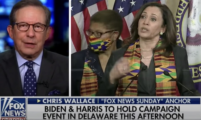 Chris Wallace says Kamala Harris 'not far to the left despite what Republicans are going to try to say'