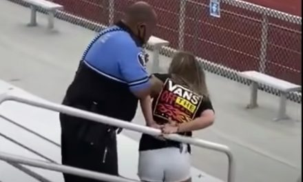 Mom tased for not wearing mask during football game charged with criminal trespassing