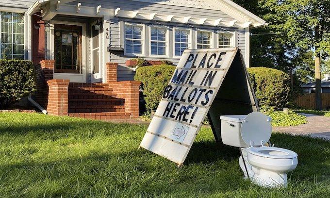 Flush! Democrats have no sense of humor